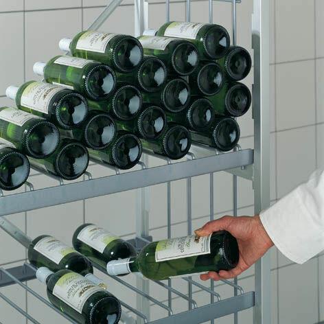 Flaschenauflagen zubeh r aluminiumregale alu und for Boden katalog anfordern