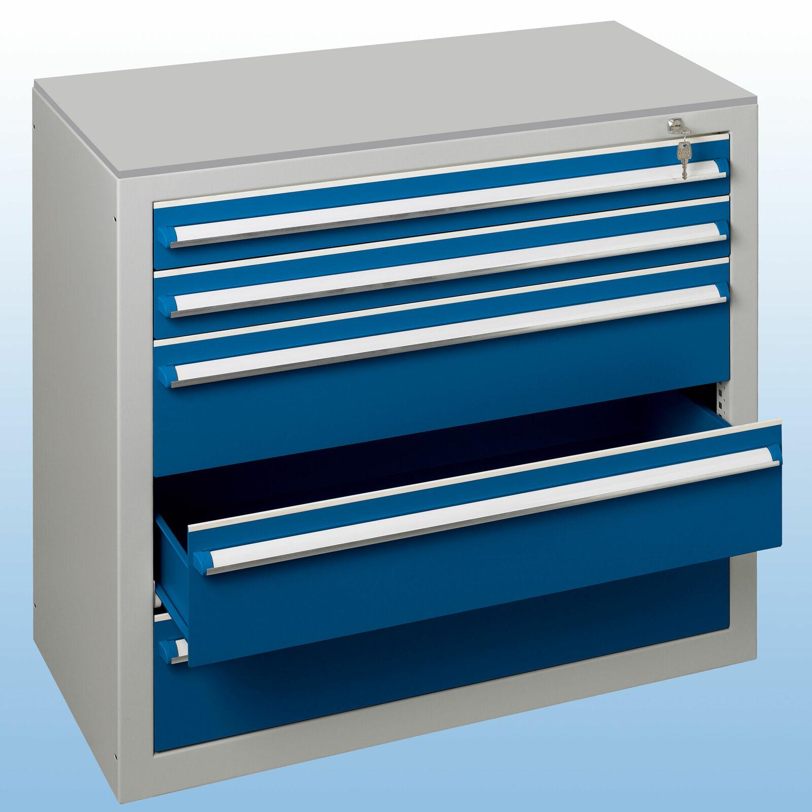 schubladenblock grau blau bei kaiser systeme. Black Bedroom Furniture Sets. Home Design Ideas