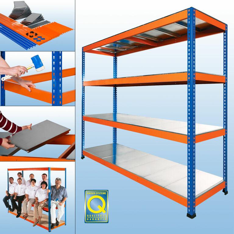 weitspannregal mp10 p von kaiser systeme. Black Bedroom Furniture Sets. Home Design Ideas