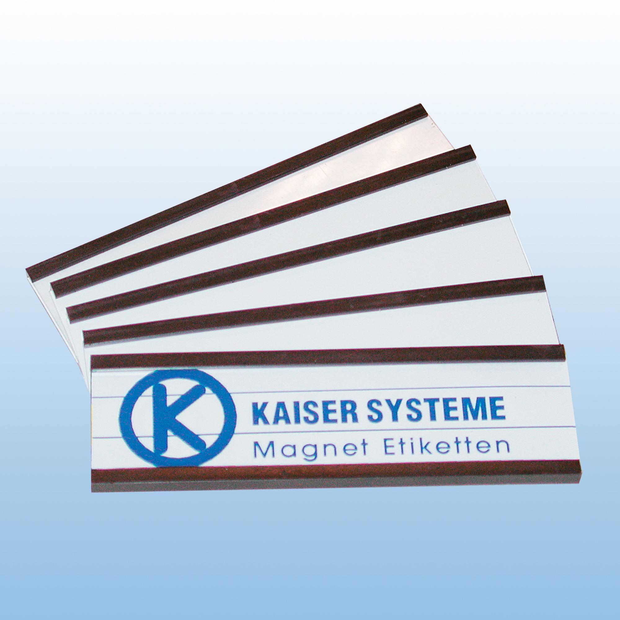 Magnet-Etiketten A0102 | Zubehör von Kaiser Systeme