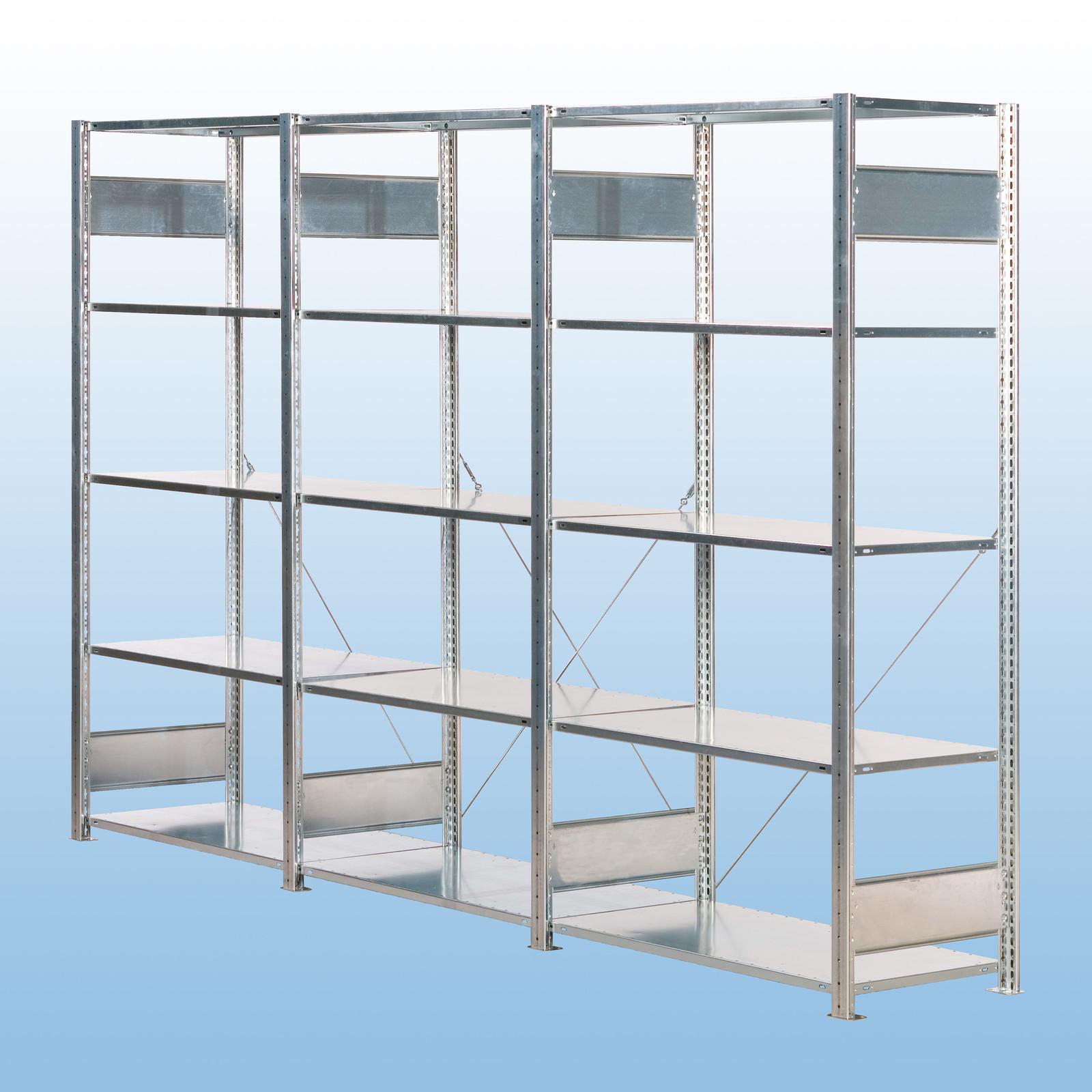 s20 fachbodenregal stecksystem verzinkt regalaktionen bei kaiser systeme. Black Bedroom Furniture Sets. Home Design Ideas