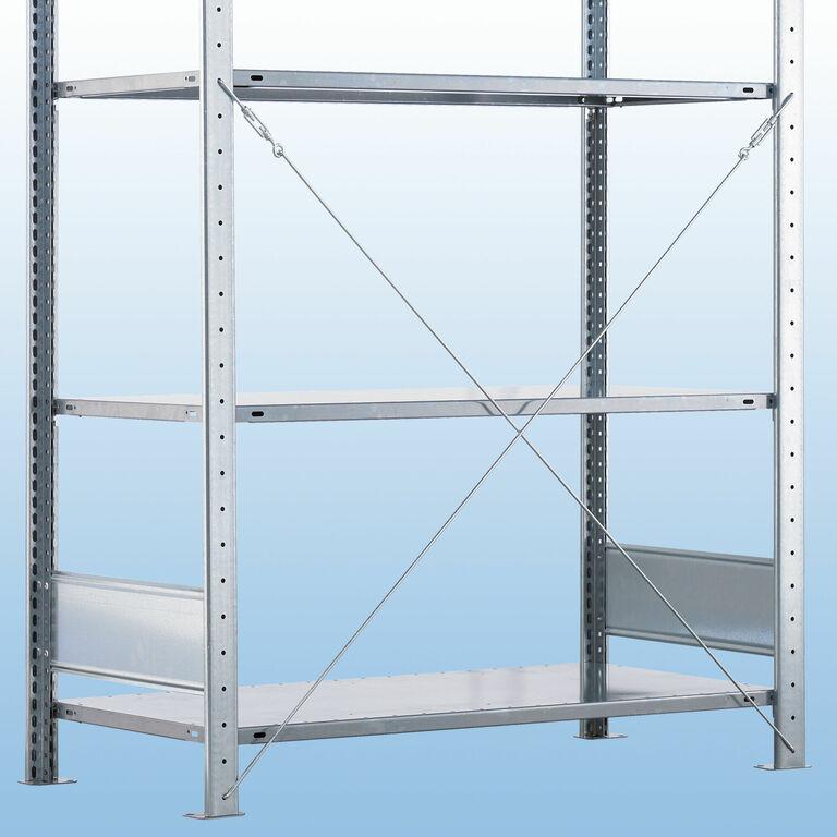 steckregal s71 verzinkt von kaiser systeme. Black Bedroom Furniture Sets. Home Design Ideas