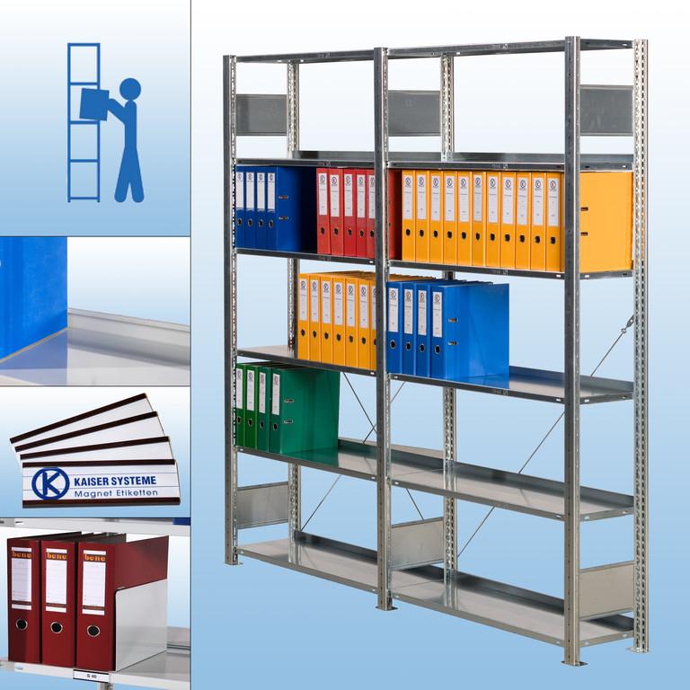 s40 wandregal verzinkt von kaiser systeme. Black Bedroom Furniture Sets. Home Design Ideas
