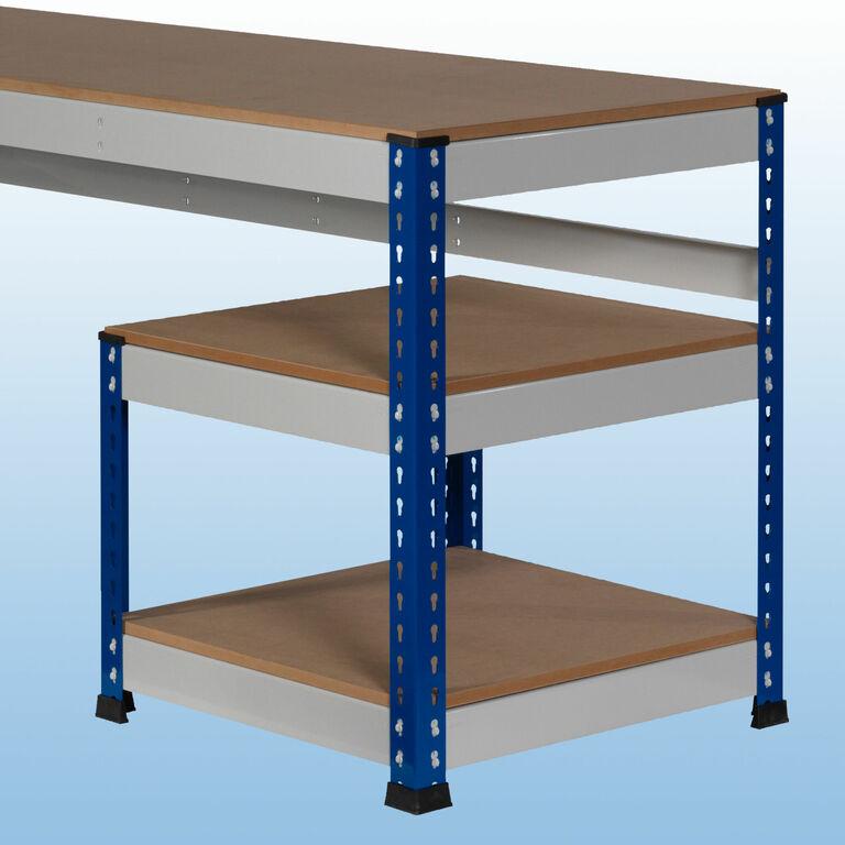 mp11 mp12 arbeitstische mit mdf platten arbeitstische bei kaiser systeme. Black Bedroom Furniture Sets. Home Design Ideas